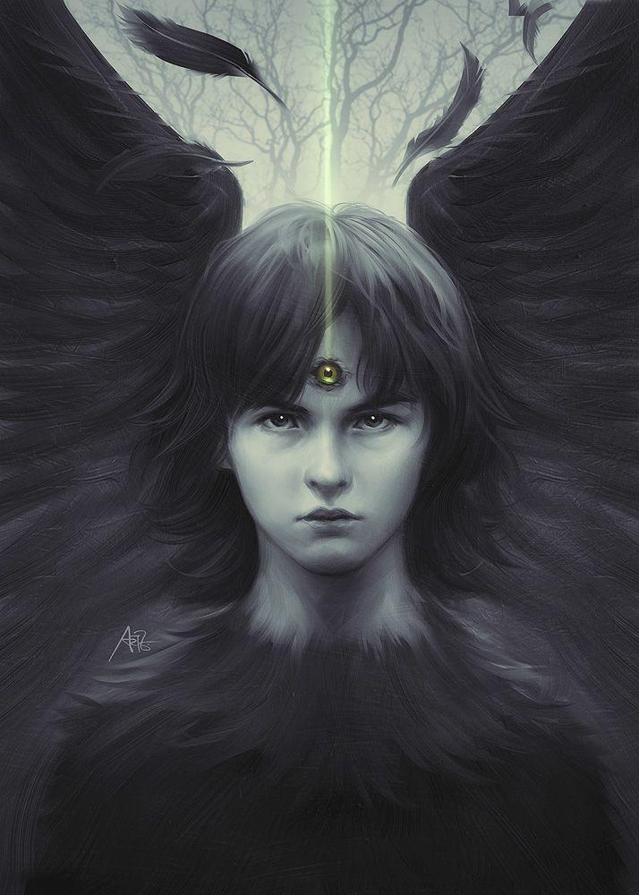 Eye of Raven by `Artgerm on deviantART