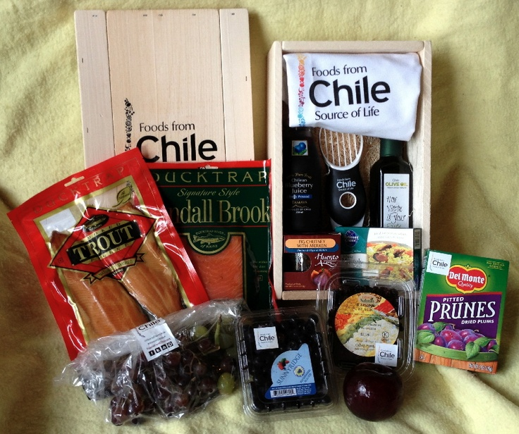 Chile Package Contents
