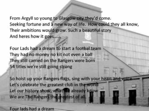 Four lads had a dream