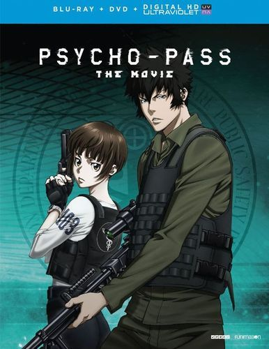 Psycho-Pass: The Movie [Includes Digital Copy] [UltraViolet] [Blu-ray/DVD] [2 Discs] [2015]