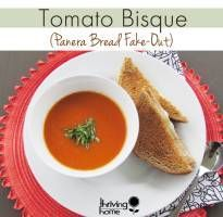 Tomato Bisque Recipe (Panera Bread Fake-Out) | Thriving Home  Can make ahead and freeze