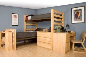 Graduate Senior Crew Solid Wood Furniture for Student Dorm Rooms from University Loft