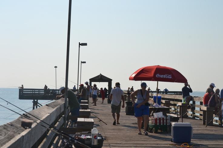 Springmaid pier longest pier over the atlantic along the for Myrtle beach surf fishing