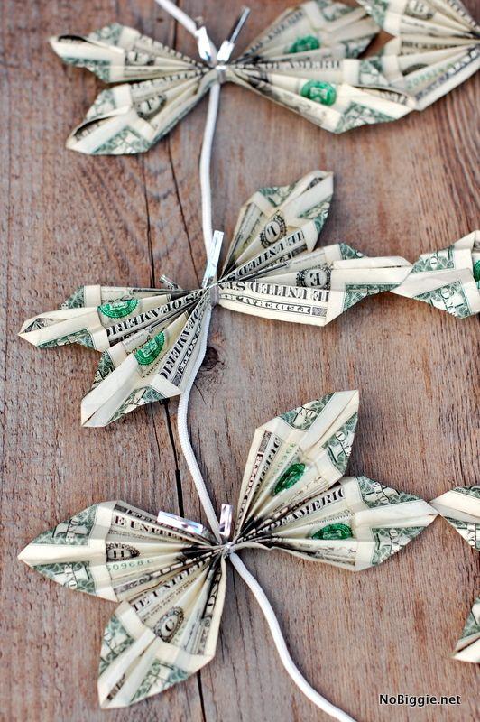 Поздравления бусы из денег