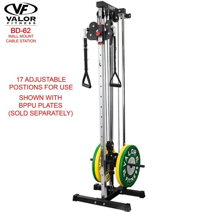 Bd 62 Wall Mount Cable Station Building A Home Gym At Home Gym Home Gym Garage