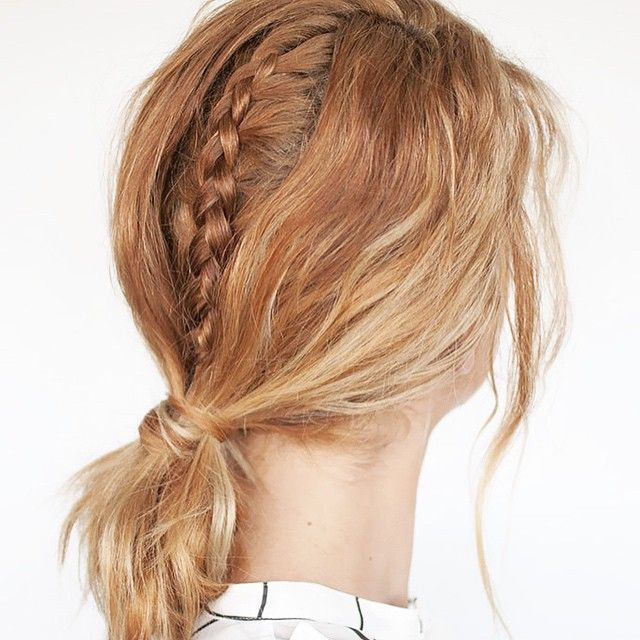 On the blog today is a tutorial for this braid inspired by fashion week #linkinprofile