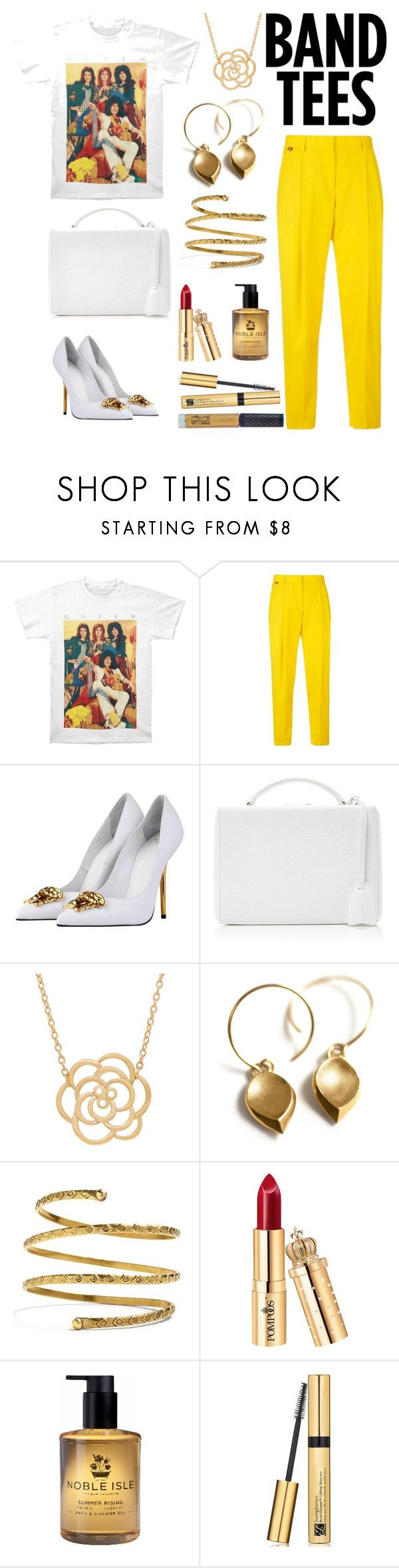 """Queen's colour"" by grace-ooi ❤ liked on Polyvore featuring Paul Smith, Versace, Mark Cross, Lord & Taylor, Venus, Carnill & Company, Estée Lauder and Winky Lux"