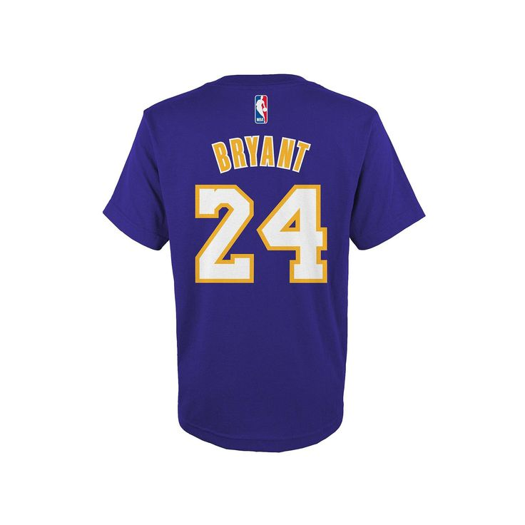 Boys 8-20 Adidas Los Angeles Lakers Kobe Bryant Player Tee, Size: Medium, Ovrfl Oth