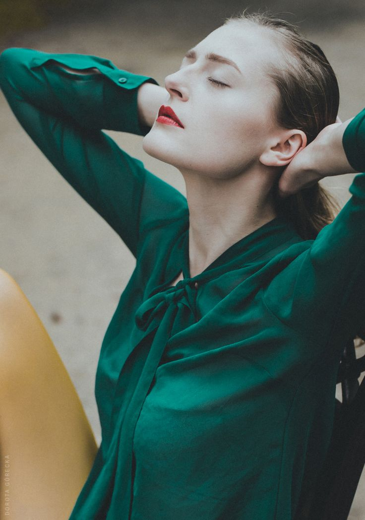 Model: Agata Balczewska Photo: Dorota Górecka