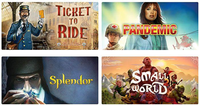 Le planning des sorties jeux vidéo d'Asmodee Digital - Asmodee Digital, une des filiales du Groupe Asmodee, est un éditeur et un distributeur international de jeux de société développés pour les plateformes digitales -iOS, Android, PC.