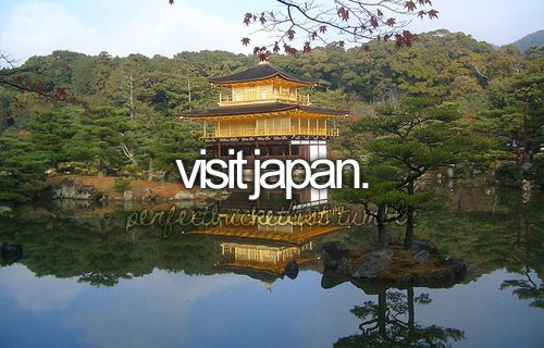Sure... see the cherry blossoms bloom in japan is on the list but visiting alone would be great.