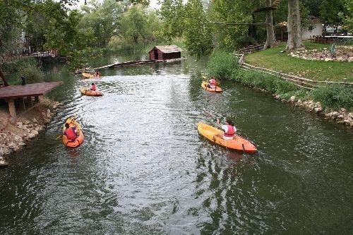 Paseo en canoa en Madrid