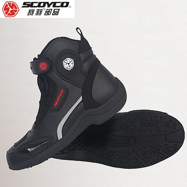 ==> [Free Shipping] Buy Best Hot Original SCOYCO Motorcycle Boots Men Casual Fashion Leather Wear Shoes Breathable Anti-skid Protection Botas De Motociclista Online with LOWEST Price | 32803938020