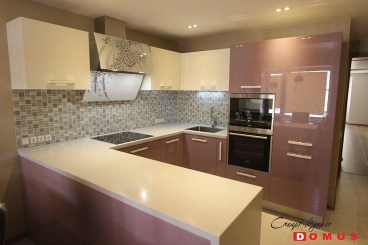 Лавандовая кухня: дизайнерское цветовое решение в интерьере кухни - Domus (СПб)