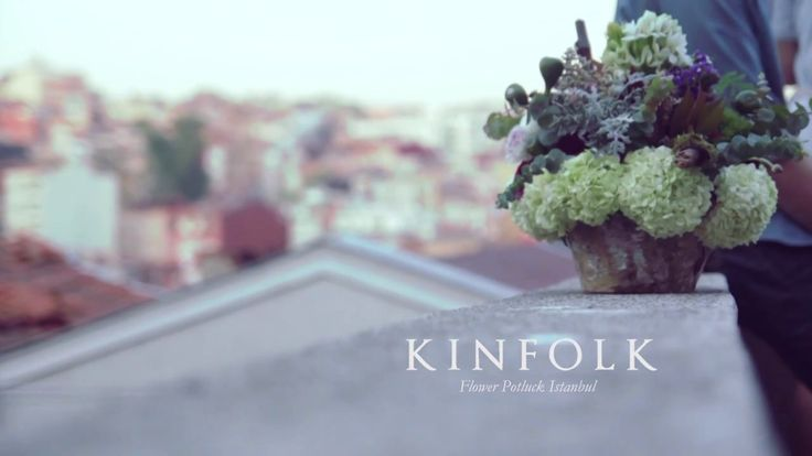 Kinfolk Magazine Flower Potluck Istanbul