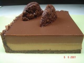 chocolate & coffee creme brulee tart