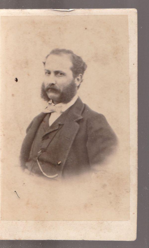 1880 C.A. CDV GENTILUOMO IN POSA BY ANONIMO-1796