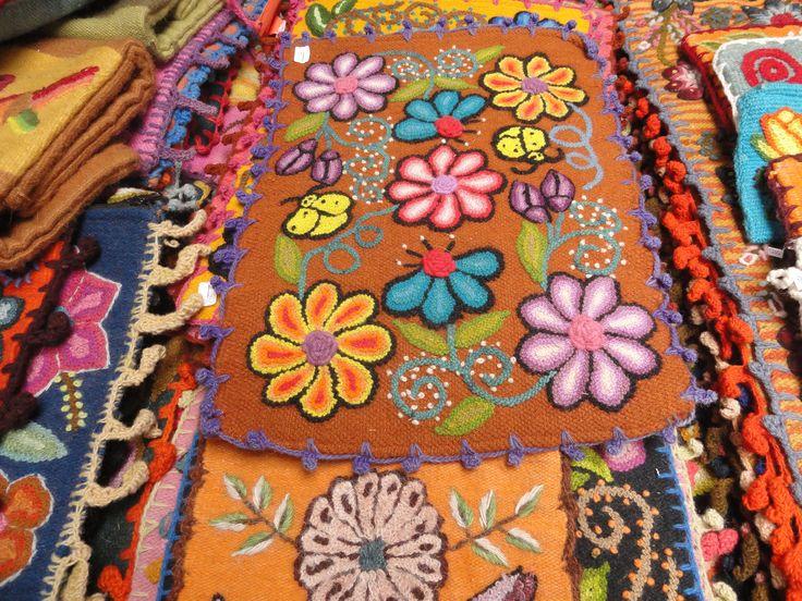 Knitting Embroidery Bordado : Best images about bordado peruano on pinterest hand