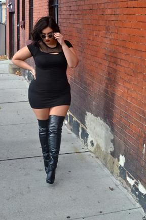 Plus Size Thigh High Boots, the Alternatives of Looking Stunning ...
