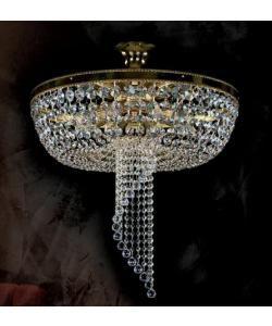 Plafonier cristal Bohemia diametru 50cm Dominga CE - - Universul luminii | Corpuri de iluminat, lustre