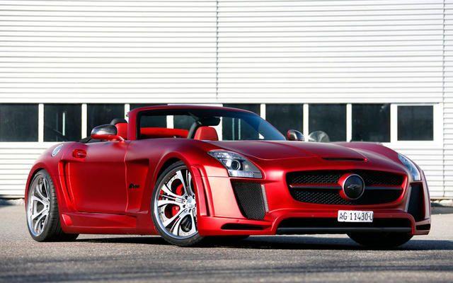 Fab Design Sls Amg Roadster Red Cars Pinterest