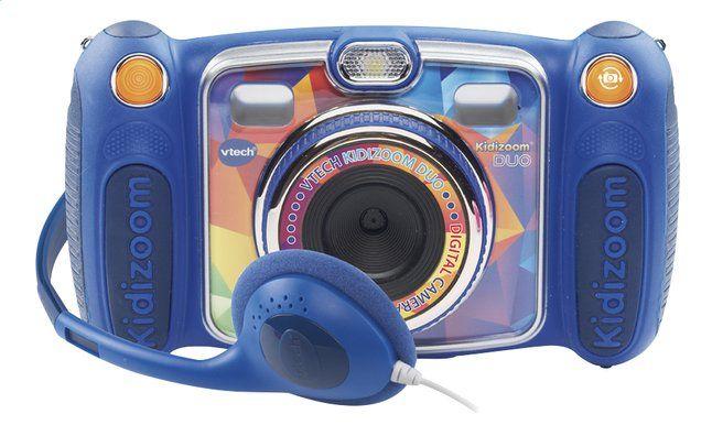 Afbeelding van VTech digitaal fototoestel KidiZoom Duo blauw from DreamLand