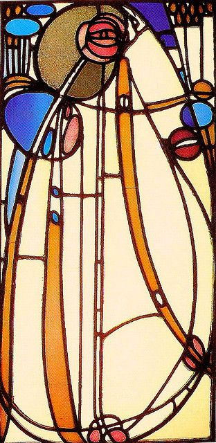 This Charles Rennie Mackintosh would be an amazing half sleeve on my upper arm. LOVE art nouveau.