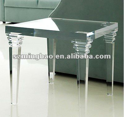 elegant transparent acrylic table buy acrylic dining banquet table product on alibabacom - Lucite Desk