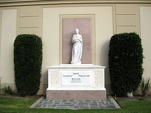 Forest Lawn Memorial Park (Hollywood Hills)- Bette Davis