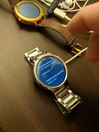 Update: Moto 360 models, too] Huawei Watch 1 and 2 Wear OS v2 17