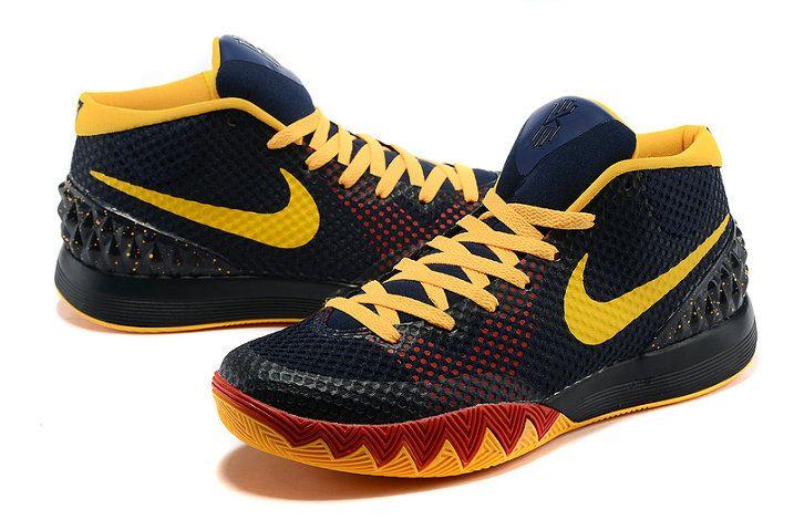 kyrie irving 1 pe yellow black orangenike kyrie 1 shoes - 717×479