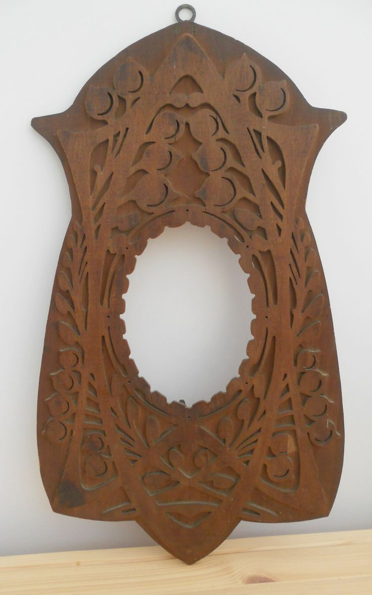 ANTIQUE VINTAGE WOODEN FRETWORK FRAME ~ SOLD ON MY EBAY SITE LUBBYDOT1