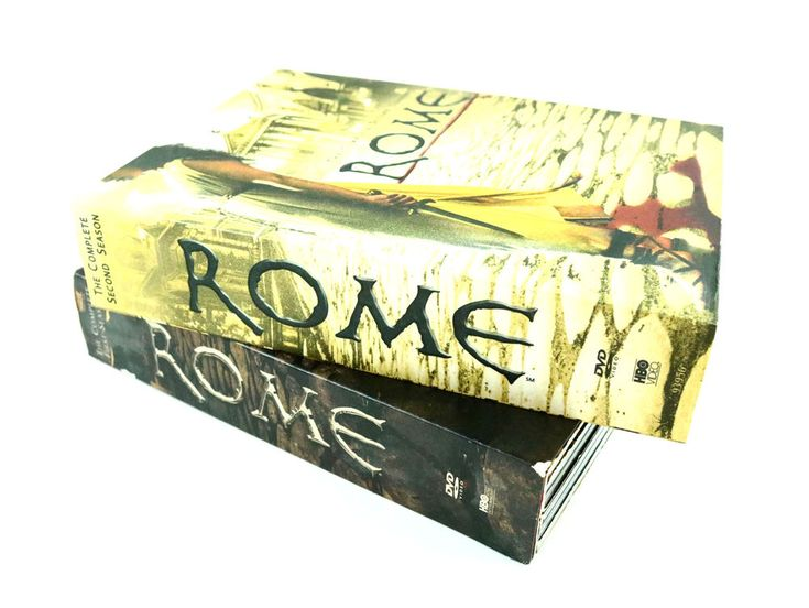 Rome HBO Original Series Complete Seasons 1 - 2 Like New DVDs Fast Free Shipping #HBOEntertainment