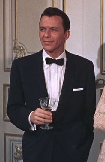 Frank Sinatra as Mac Connor in High Society (1956).
