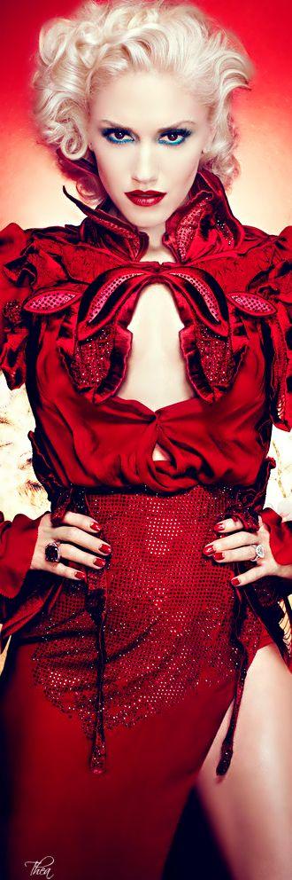 ~Gwen Stefani | The House of Beccaria# hair + makeup. Gwen = perfection