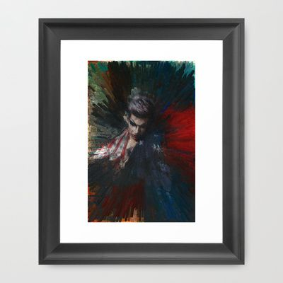 TransLiberty Framed Art Print by Doc Maowi - $42.00