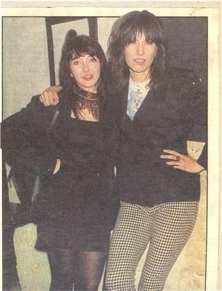 Kate and Chrissie Hynde