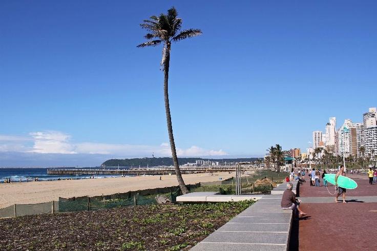 North beach Durban, South Africa - boardwalk