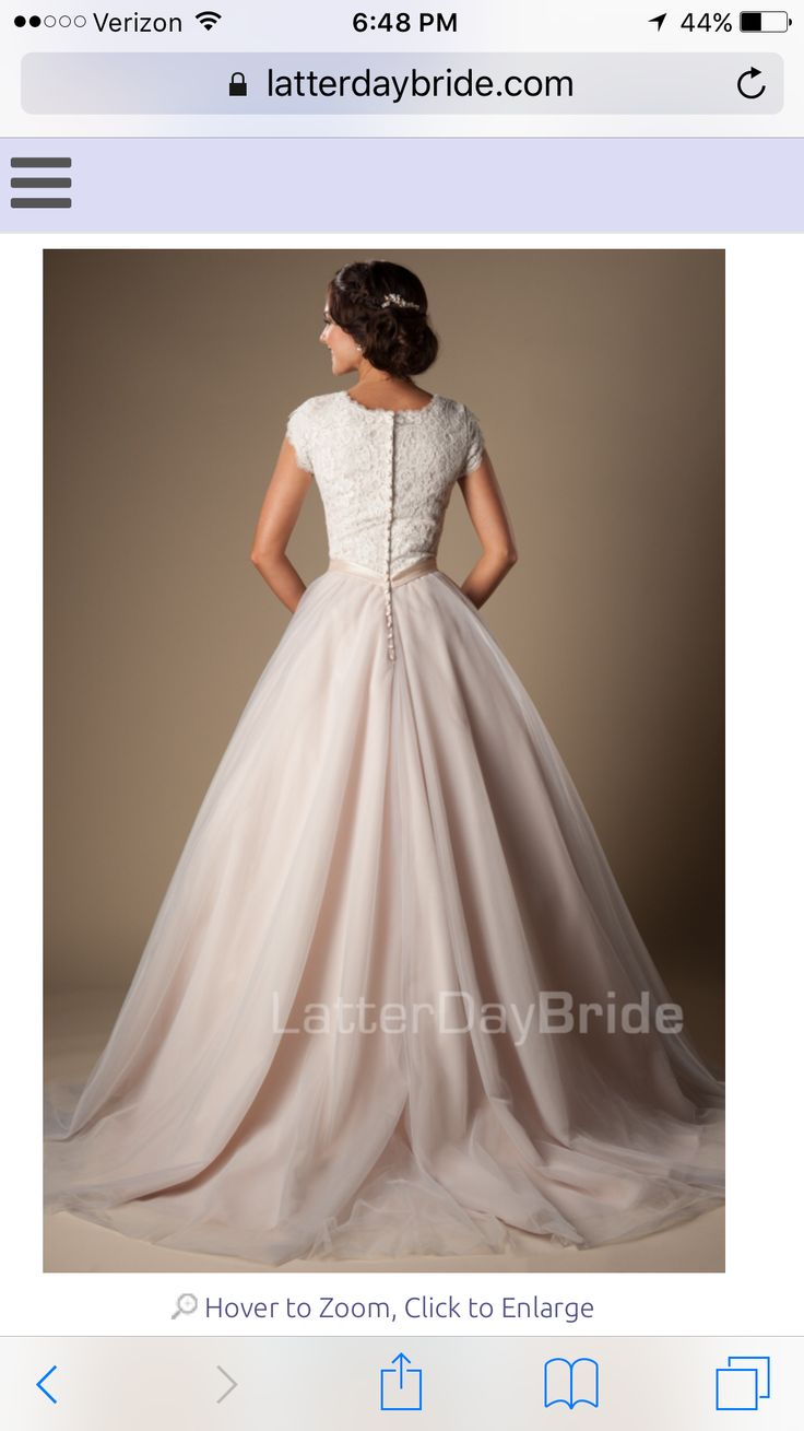 Kensington latter day bride back lace bodice, wide chiffon skirt