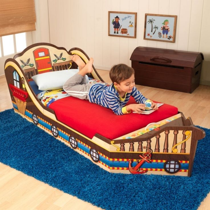 kidkraft toddler pirate bed and disney jake and the neverland pirates 4 piece to