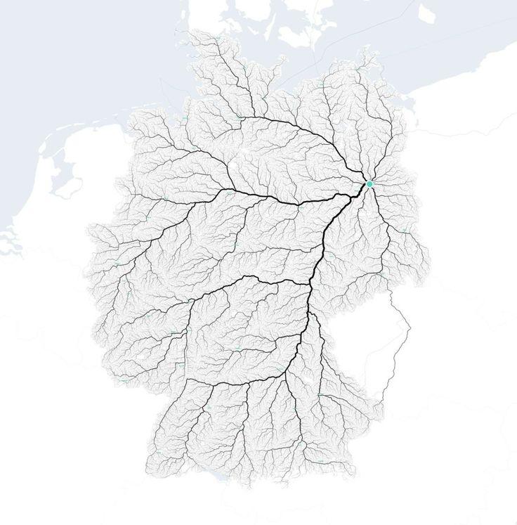 Oh und das sind übrigens alle Straßen Deutschlands, die nach Berlin führen: | 28 Karten, die Dich total anders auf Berlin blicken lassen