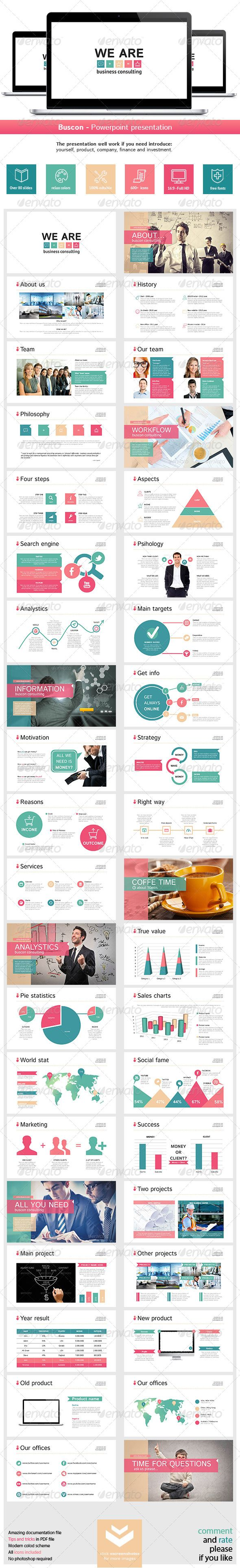 Buscon Powerpoint Presentation - Business Powerpoint Templates.