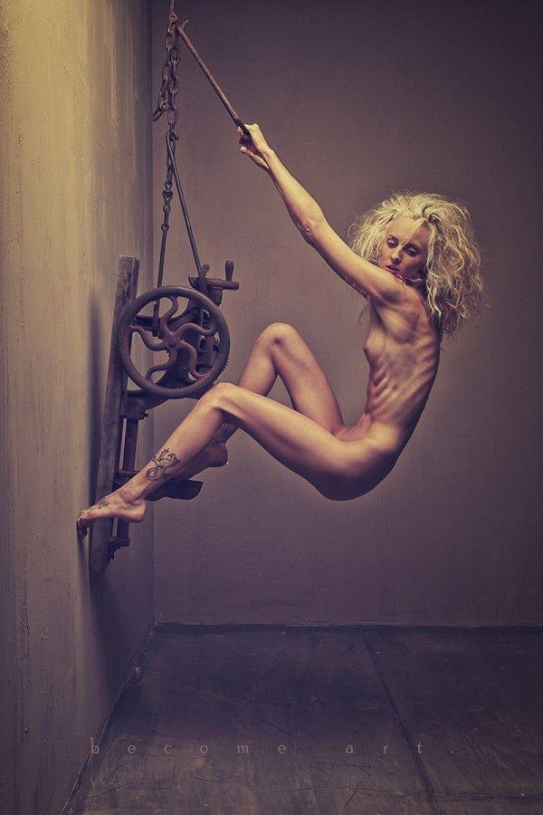 Fine Art Nude - Drill Press