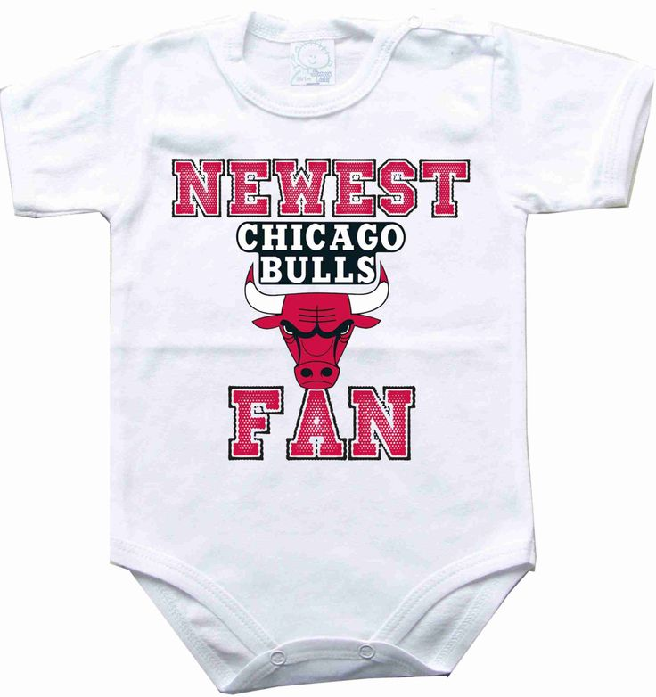 Baby bodysuit Newest fan Chicago Bulls NBA basketball One Piece Bodysuit Funny Baby Child boy girlen's Clothing Kid's Shower boy baby by sportFanBaby on Etsy https://www.etsy.com/listing/209128335/baby-bodysuit-newest-fan-chicago-bulls