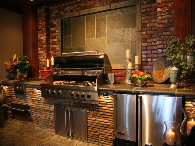 44 Best Luxury Outdoor Kitchens Ideas Images On Pinterest Outdoor Kitchens Outdoor Cooking