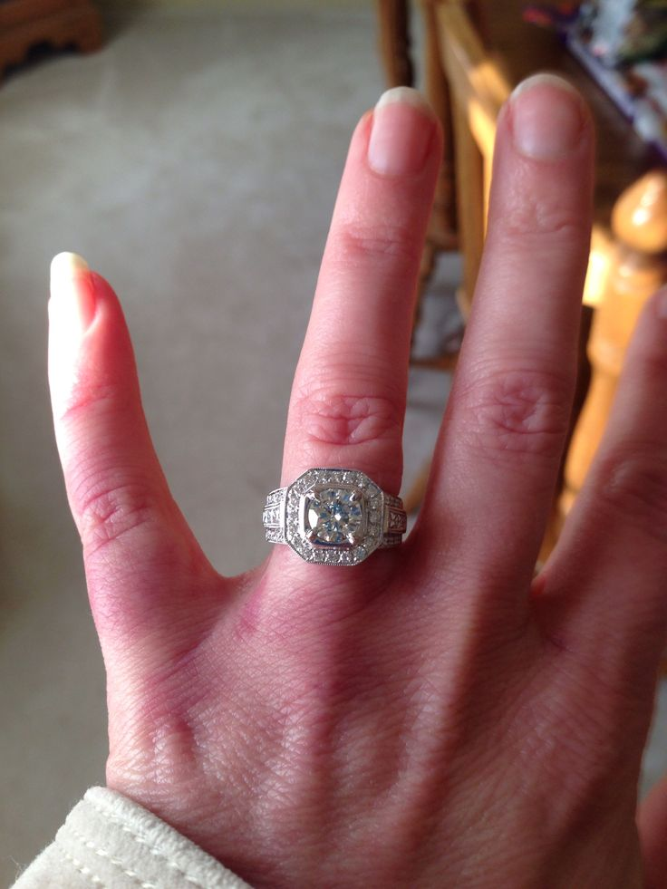 10 best 20th wedding anniversary ring images on Pinterest