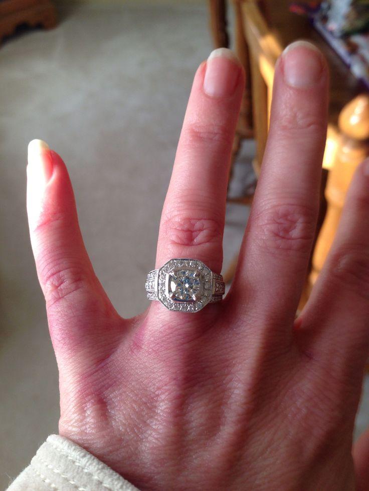 15 Year Wedding Anniversary Simon G Ring
