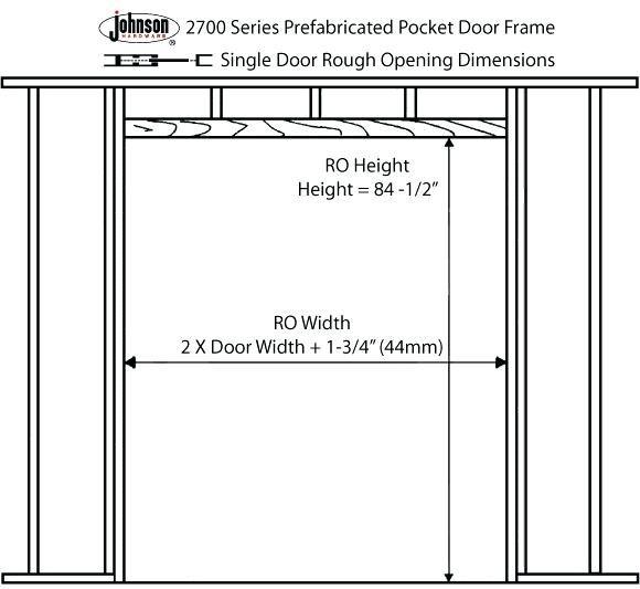 Sliding Closet Door Rough Opening Brilliant Brilliant Check More At Https Cheapacticin Com 37087 S Pocket Door Frame Bifold Closet Doors Sliding Closet Doors