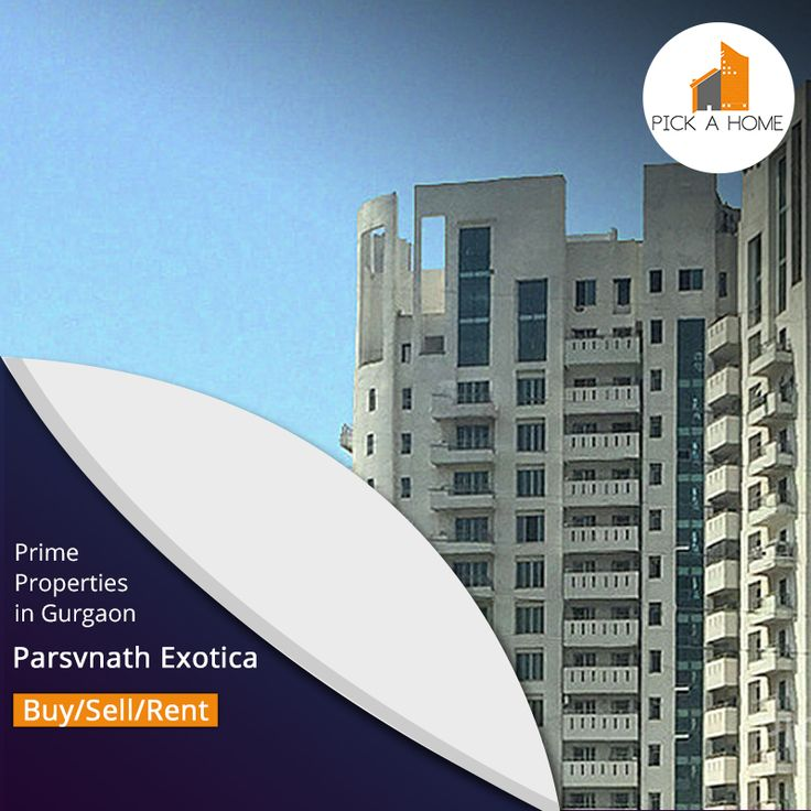Want to buy, sell or rent apartments in Parsvnath Exotica, Gurgaon?  Search Pickahome - Gurgaon's no.1 property portal and find the right property of your budget. 15 Apartments are available for sale and  10 Apartments are available for rent in PARSVNATH EXOTICA