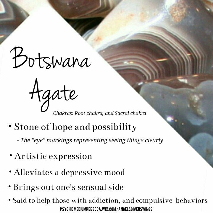 Botswana Agate crystal meaning